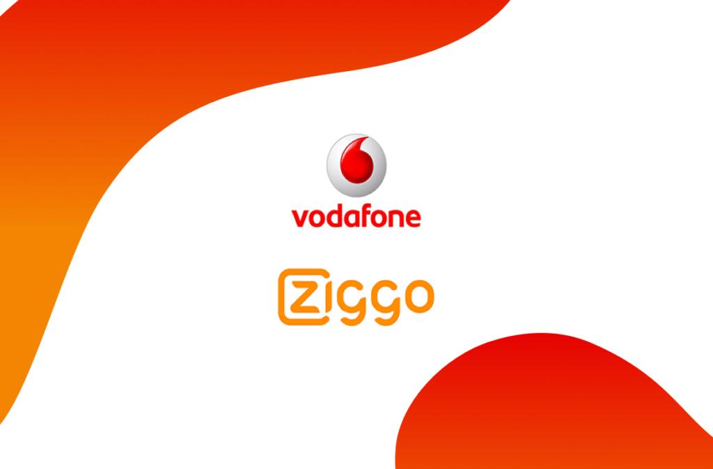 The AccelerationGroup VodafoneZiggo logo